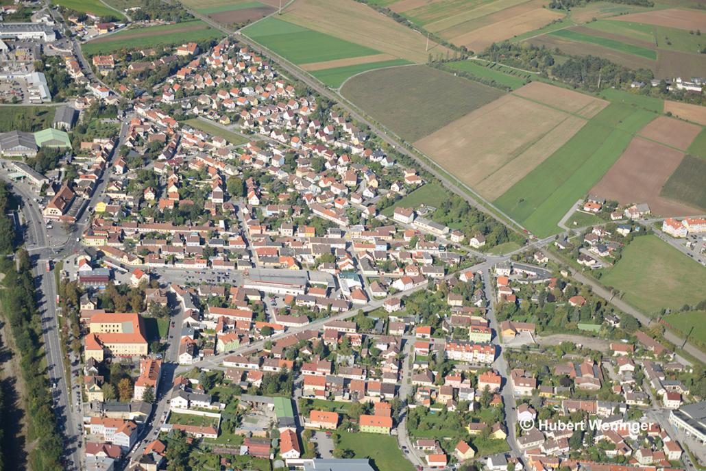 Luftbild Neunkirchen © Hubert Weninger