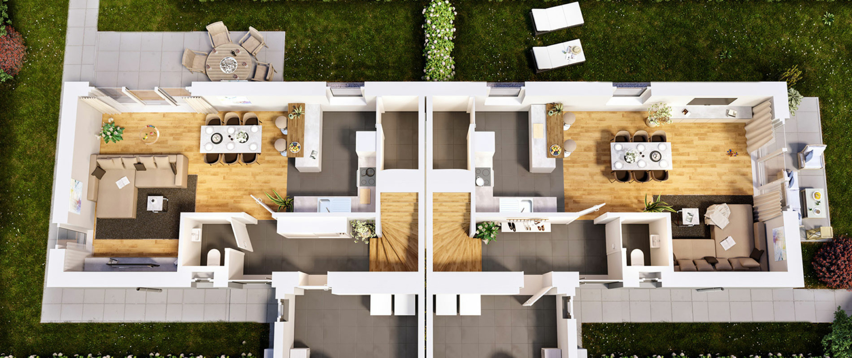 Das Doppelhaus © VIZ A VIE Visuals